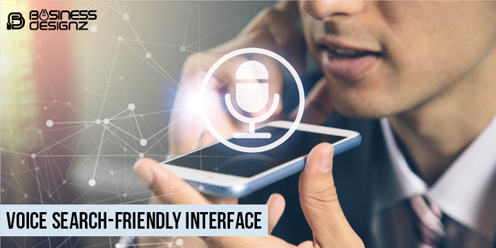 Voice Search-Friendly Interface